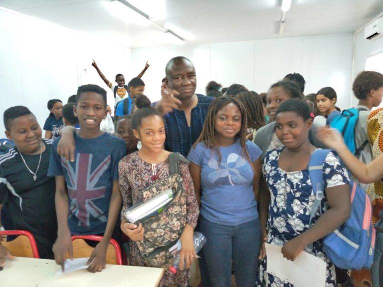 Filbleu 2019: Bios Diallo au Lycée français de Lomé